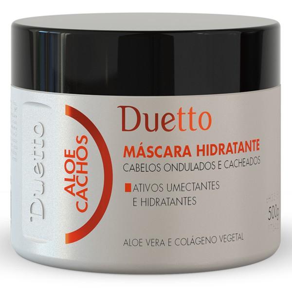 Máscara Hidratante Aloe Cachos Duetto 500 g