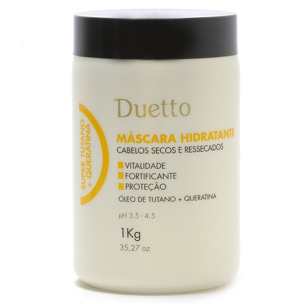 Máscara Hidratante Super Tutano + Queratina Duetto 1Kg