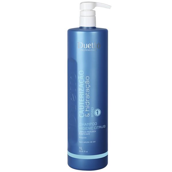 Shampoo Higienic Citrus C/Propolis Duetto 1L