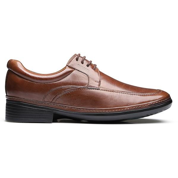 Sapato Social Casual masculino DUO COMFORT Francajel Mouro