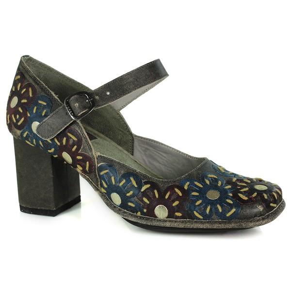 Sapato Em Couro Galeany Alto Café J.Gean