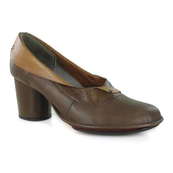 Sapato Em Couro Coffe AG0040 J.Gean