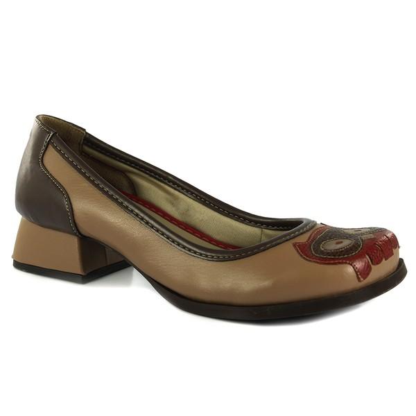 Sapato Em Couro Cortiça J.Gean AK0048