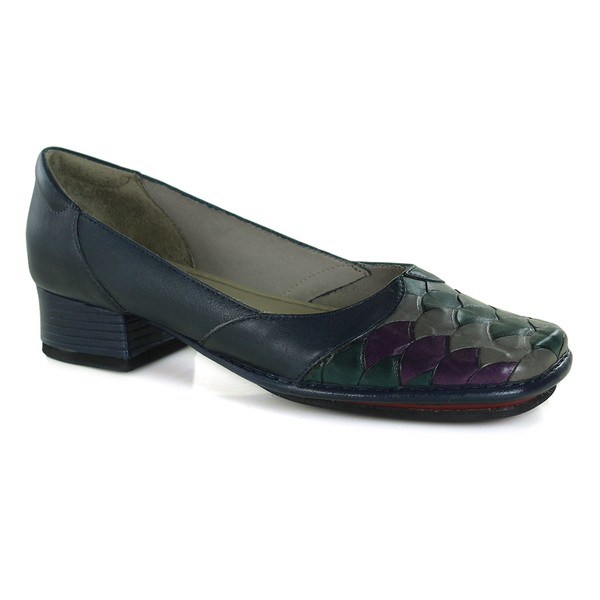 Sapato New Mariah Em Couro Navy J.Gean