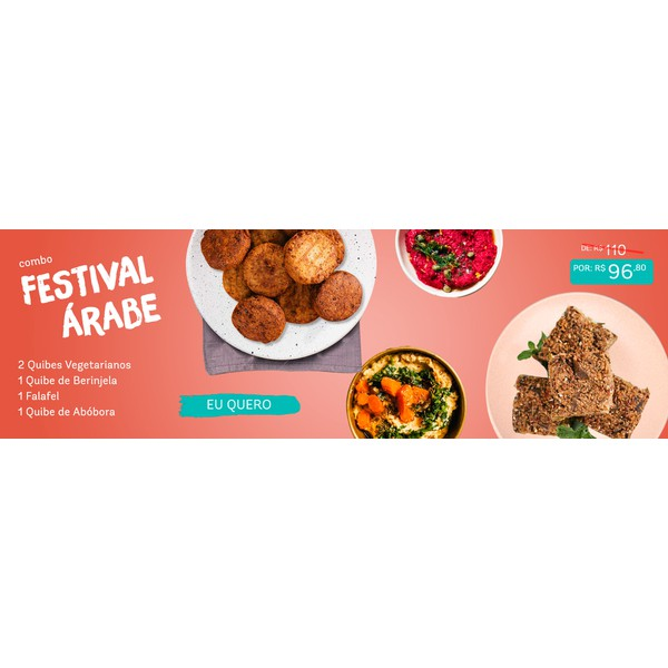 Combo Festival Árabe