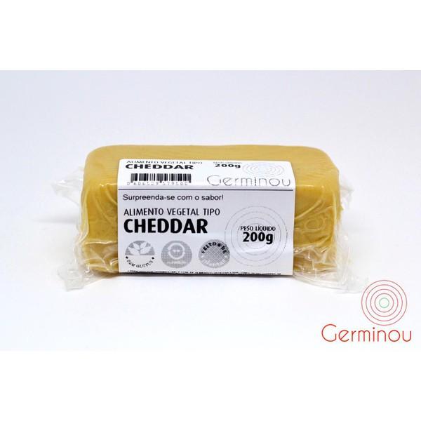 Queijo Cheddar Vegano - Germinou