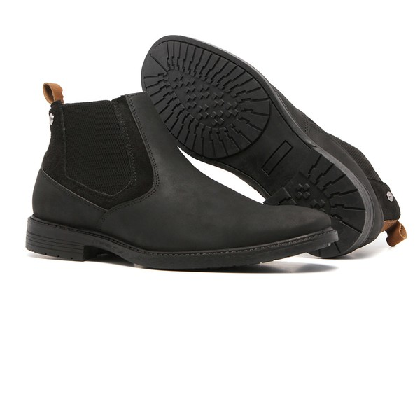 Bota Chelsea Masculina Quebec Dallas Black