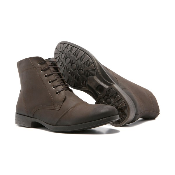 Bota Masculina Quebec Stanford Brown