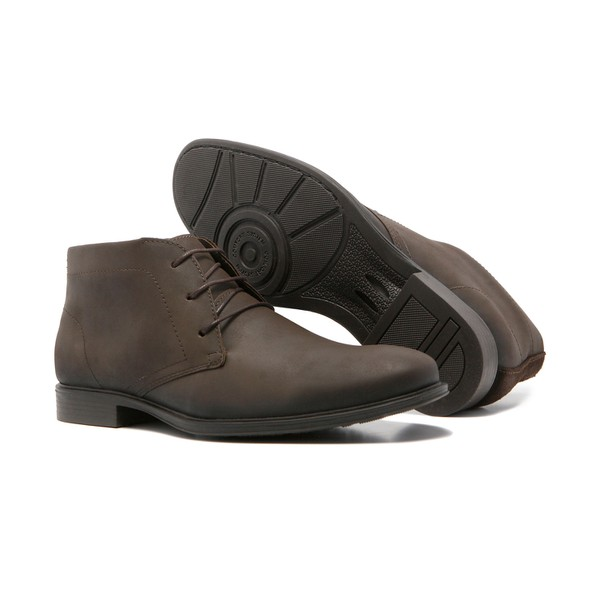 Bota Masculina Quebec Haven Brown