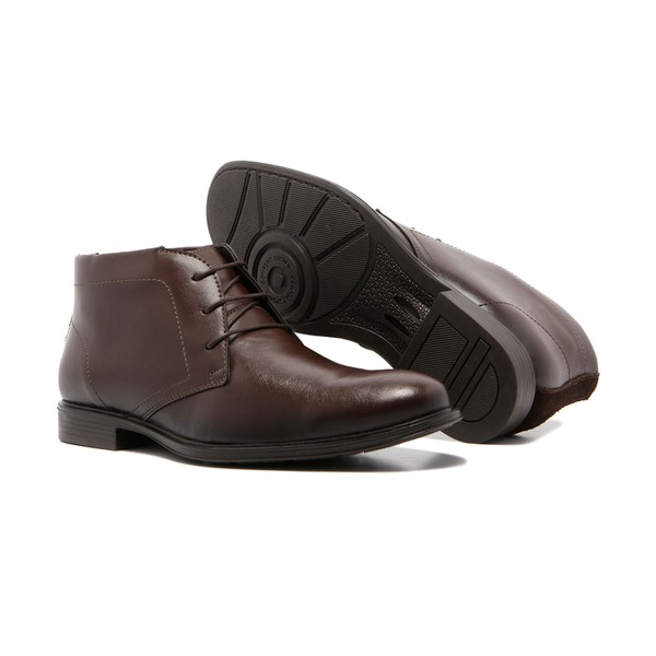 Bota Masculina Quebec Haven Café