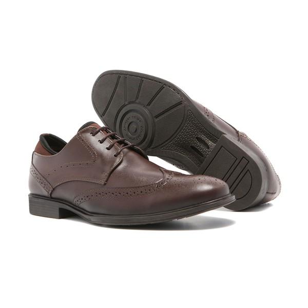 Sapato Quebec Salerno Brown