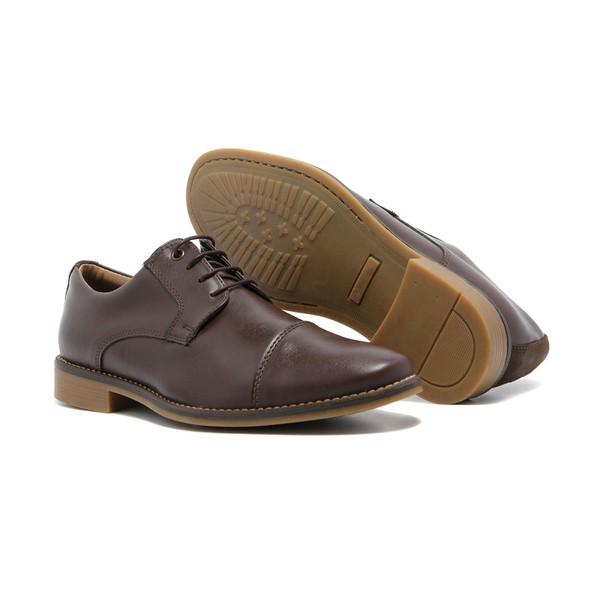 Sapato Masculino Quebec Viseu Brown