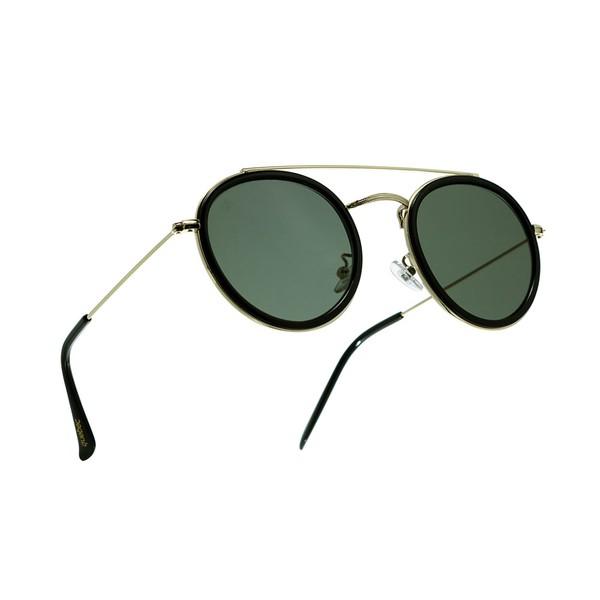 Óculos Solar Redondo Fergus Quebec Dourado