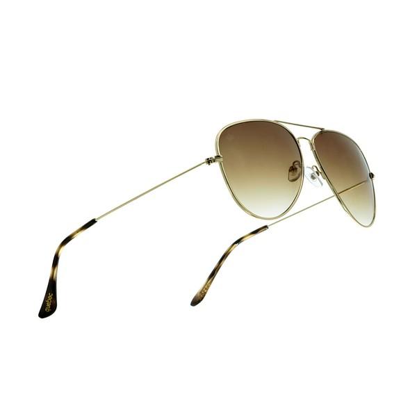 Óculos Solar Aviador Sky Quebec Gold