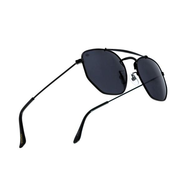 Óculos Solar Geometric Quebec Black