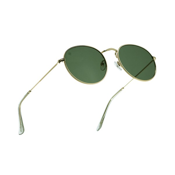Óculos Solar Redondo Fraser Quebec Gold