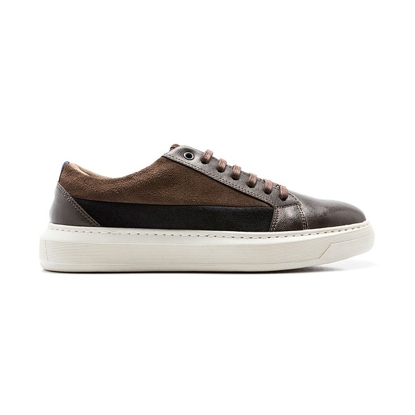 Sapatenis Masculino Quebec Jupiter Brown