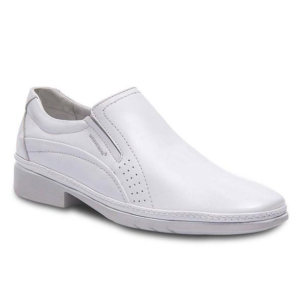 Sapato Social Super Leve Sapatoterapia Branco Captiva