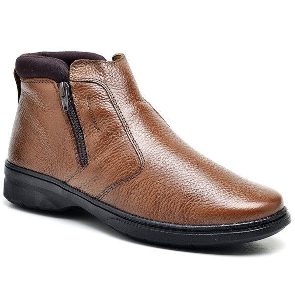 Bota Amortecedora Sapatoterapia Neoprene Chocolate Virtus