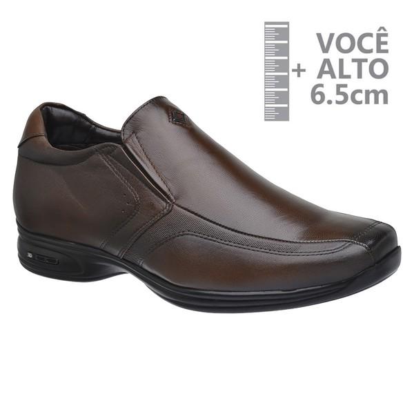Sapato com Salto Interno Jota Pe Marrom Grow Air Vision