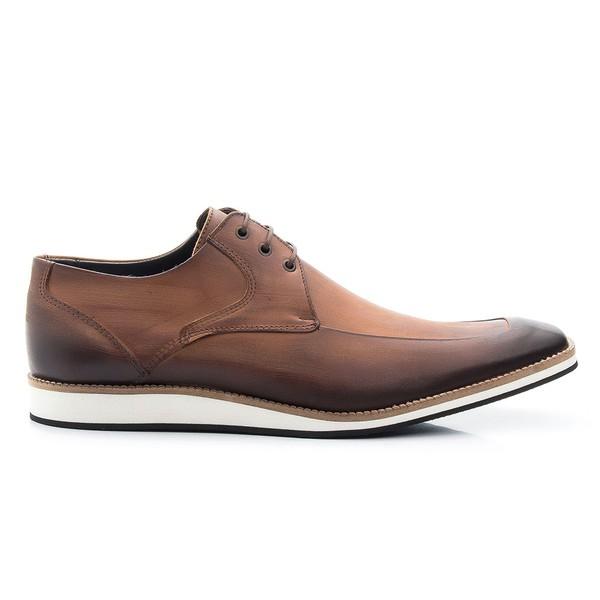 Sapato Casual Oxford Whisky Estonado