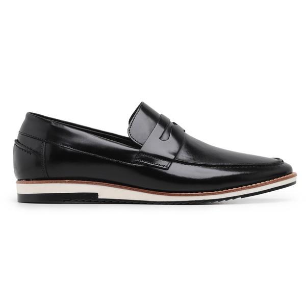 Sapato Casual Preto Loafer