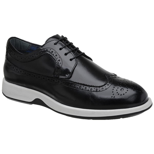 Sapato Casual Oxford Jota Pe Preto Air Kingston