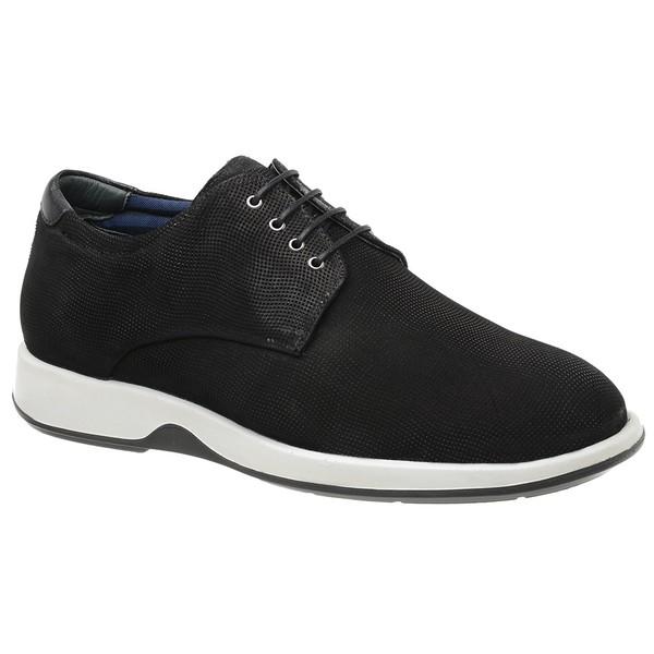 Sapato Casual Oxford Jota Pe Preto Air Kingston