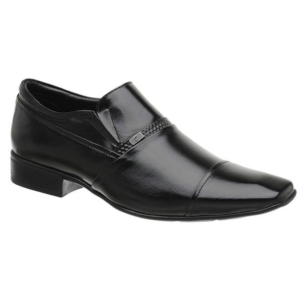 Sapato Social Masculino Preto Madok Air Manhattan