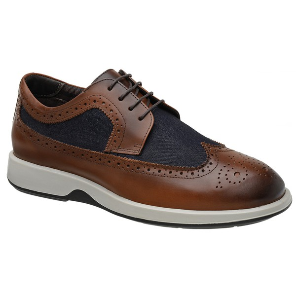 Sapato Casual Oxford Jota Pe Marrom Air Kingston