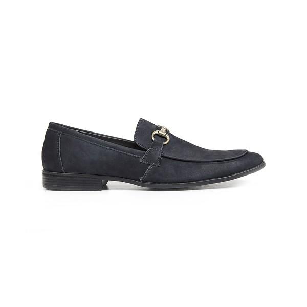 Sapato Casual Marinho Nobuck Ravena