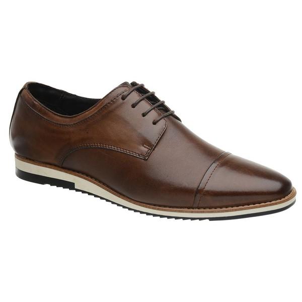 Sapato Casual Derby Caramelo