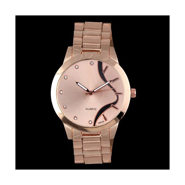 Relógio Feminino Ouro Rosê