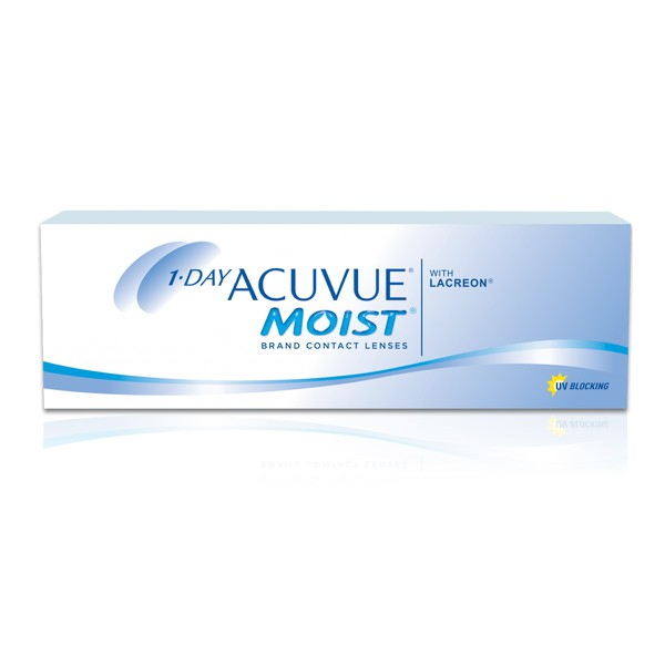 Acuvue 1 Day Moist Com Lacreon -1,50