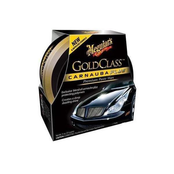 Cera Meguiars Gold Class Carnauba Plus 311g + Brinde - 4