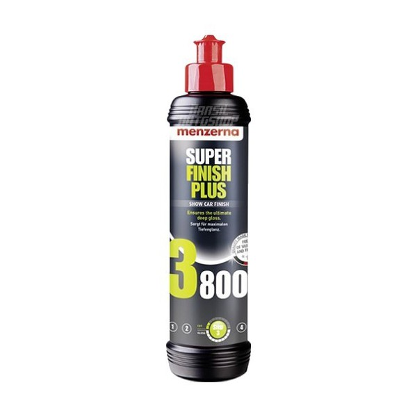 Lustrador Super Finish Plus 250ml - 3800 - Menzerna - 410