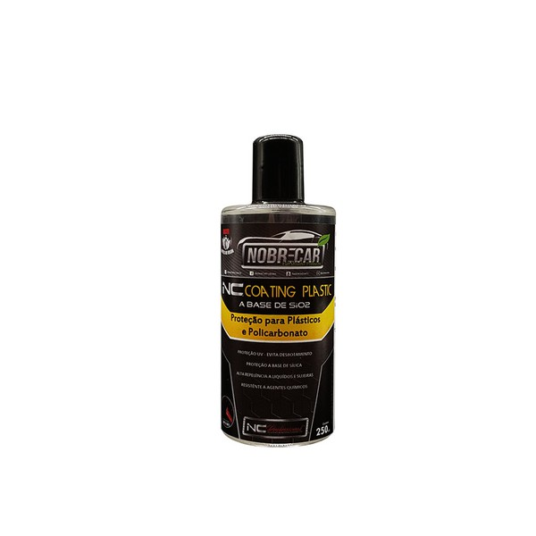 NC COATING PLASTIC 250mL (Nobre Car)