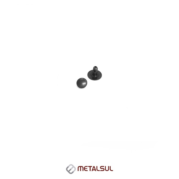 ILHOS C/ CALOTA FE PRETO 1,5 MM ABL METALSUL