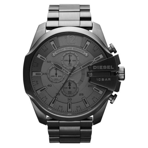 Relógio Diesel Masculino Cronógrafo Cinza