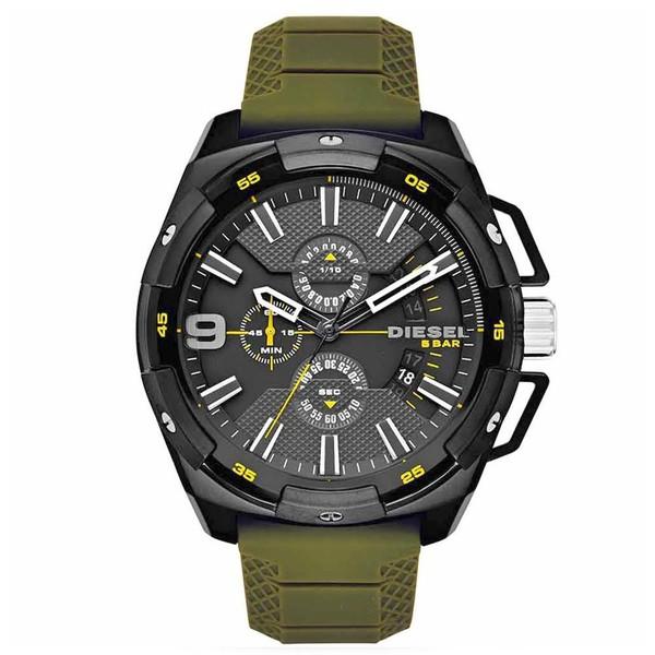 Relógio Diesel Masculino Verde Cronógrafo