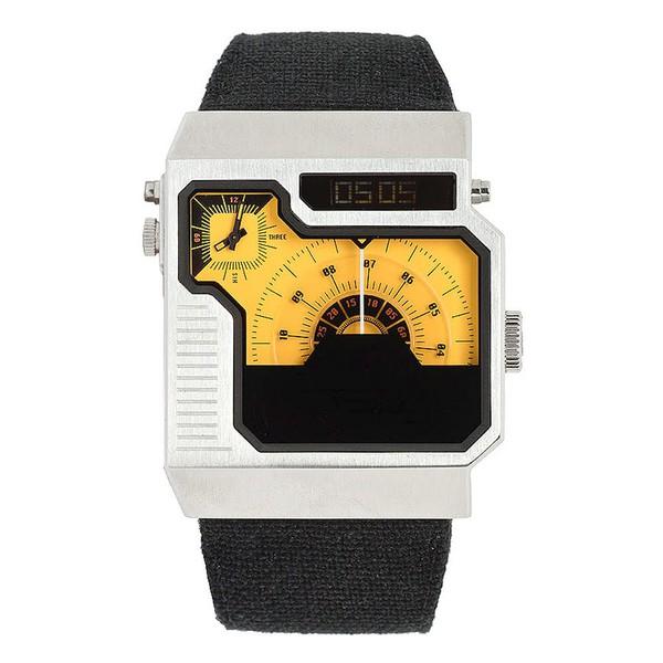 Relógio Diesel Masculino Quadrado Amarelo