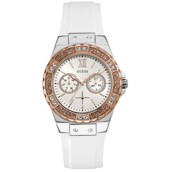 Relógio Guess Feminino Silicone Branco