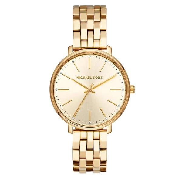 Relógio Michael Kors Feminino Pyper Dourado