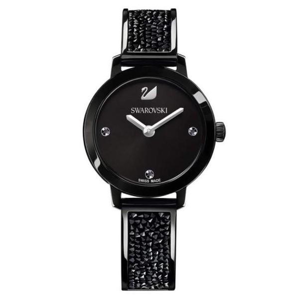 Relógio Swarovski Feminino Cosmic Rock Preto