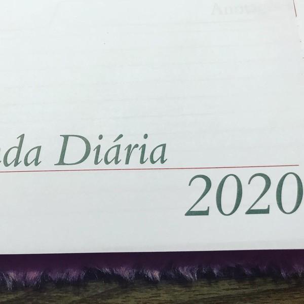 KIT DE AGENDA PARA AGENDA COSTURADA 2020 Formato 14 x 19,5