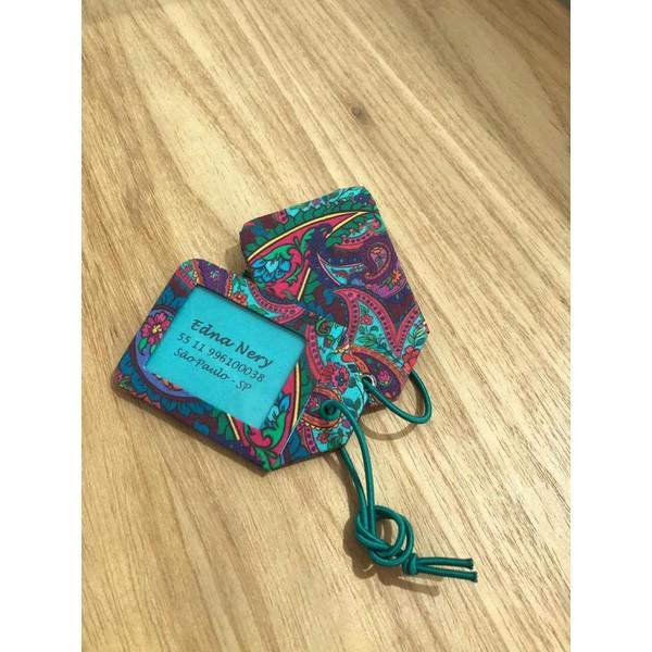 Kits de Cartonagem para Tags de Mala 10 KITS