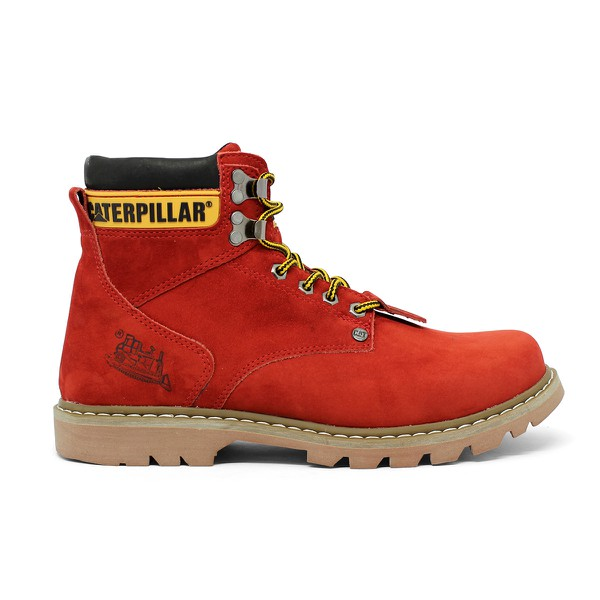 Bota Caterpillar Second Shift Boot - Vermelho
