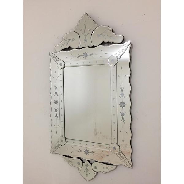 Espelho Luis Xv Com Moldura Trabalhada