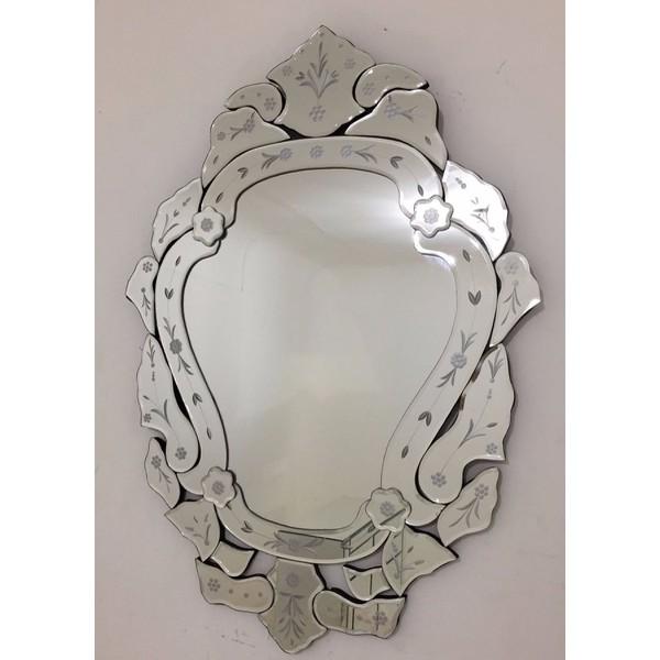 Espelho Margarida - Moldura Trabalhada