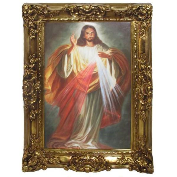 Quadro Clássico - Jesus Misericordioso
